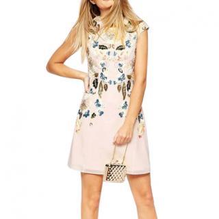 Needle & Thread Pink Eastern Garden Embellished Dress