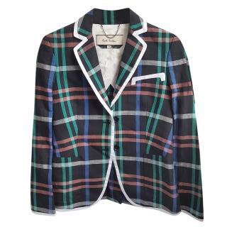 Paul Smith Linen Check Jacket