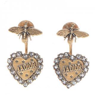 Dior J'Adior Bee & Heart Earrings