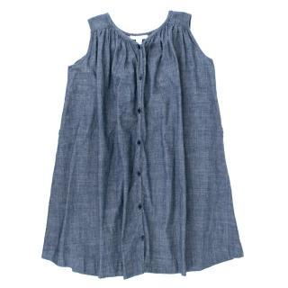 Burberry Chambray Babydoll Dress
