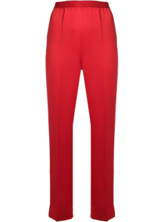 MM6 Maison Martin Margiela Red Tailored Trousers