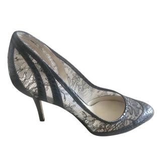 Jimmy Choo Elossy snakeskin pumps