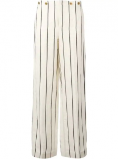 Polo Ralph Lauren Striped Wide Leg Trousers