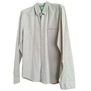 Boss Hugo Boss check shirt