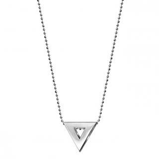 Alex Woo Elements Triangle Necklace