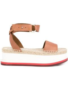 Stella Mc Carney flatform sandals