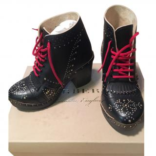 Burberry Clog Boots