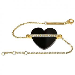 Victoria Casal 18ct Gold, Diamond & Onyx Bracelet