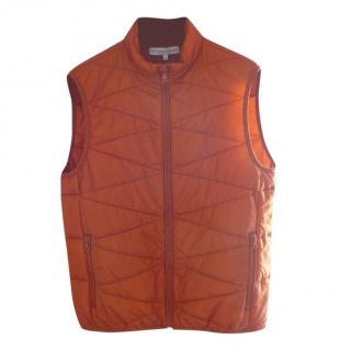 Orlebar Brown Orange Gilet