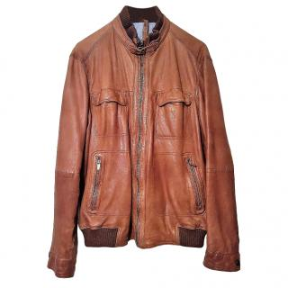 Massimo Dutti Leather Jacket