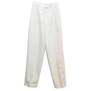 Emporio Armani Off-White Trousers