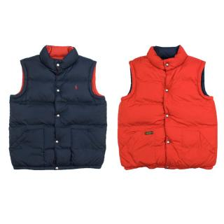 Polo by Ralph Lauren Navy Reversible Bomber Vest