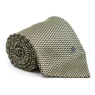 Gold Lion Black & Gold Pattern Tie
