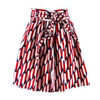 Marc by Marc Jacobs Arrowhead Print Wrap Skirt