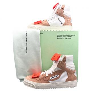 Off White LOW 3 high-top trainers