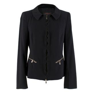 Escada Black Wool Jacket