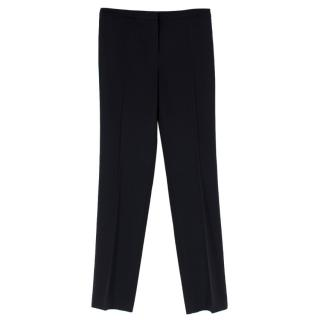 Escada Black Wool Trousers