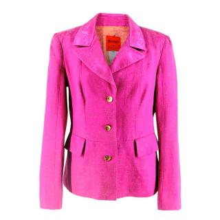 Bazar de Christian Lacroix Pink Embroidered blazer