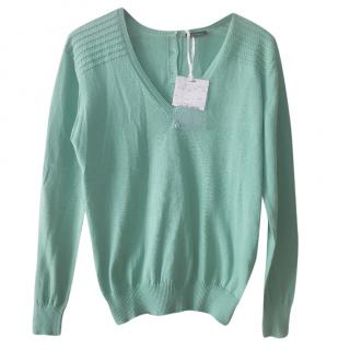 Max & Co. mint-green cotton sweater