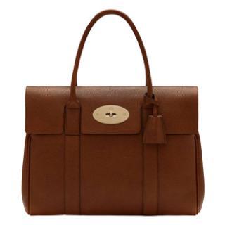 Mulberry Bayswater Tanned Oak Handbag