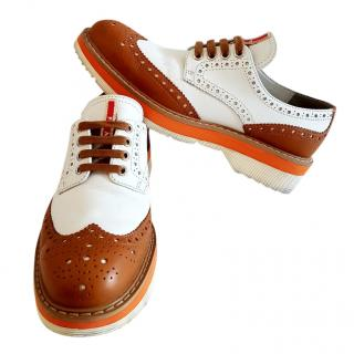 Prada Bi-Colour Brogues