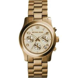 Michael Kors Rose Gold Chronograph Watch