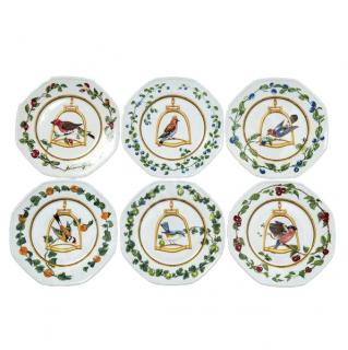 Hermes L'etrier Perchoir set of 6 plates