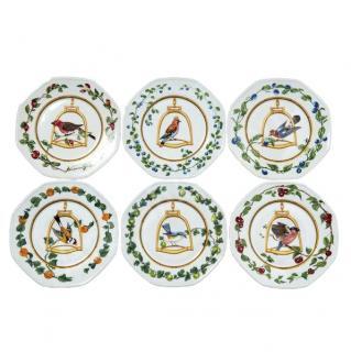 Hermes L'etrier Perchoir set of 6 plates