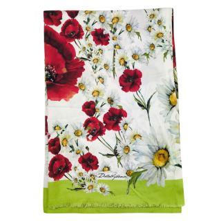 Dolce & Gabbana Floral Print Wrap