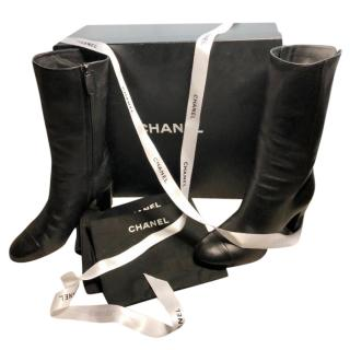 Chanel Calfskin Boots
