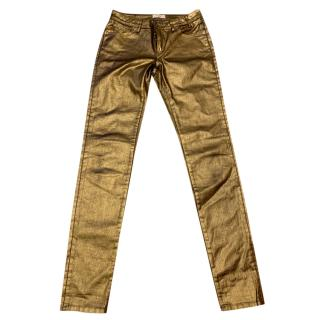 Paul Smith Gold Jeans