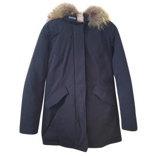 Woolrich fur-trimmed arctic parka