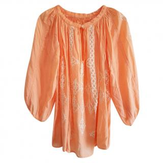 Melissa Odabash embroidered top