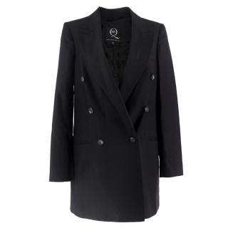 McQ by Alexander McQueen Black Tuxedo Blazer
