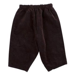 Bonpoint Boys' Brown Corduroy Trousers