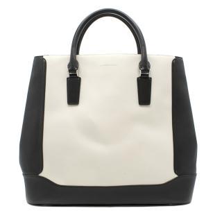 Alexander McQueen Black & White XL Tote Bag