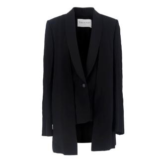 Vionnet Paris Black Double Layer Jacket