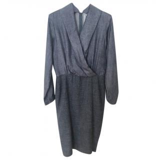 Max Mara Silk & Wool Blend Dress