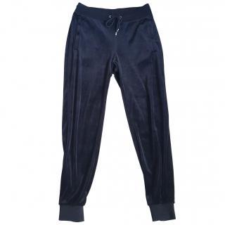 Gucci stretch velour jogging bottoms