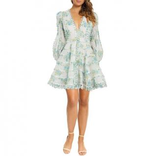 Zimmermann Whitewave Honeymooners Mini Dress