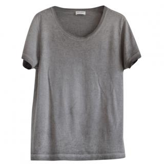 Saint Laurent faded grey t-shirt