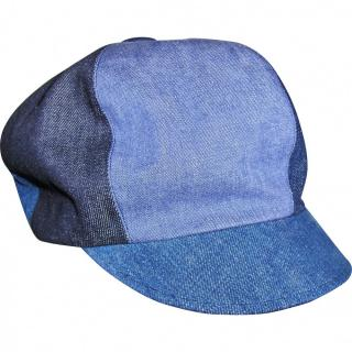 Dior  denim patchwork baker cap