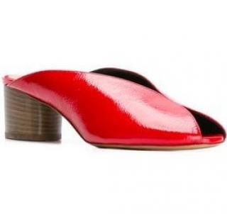 Isabel Marant Red Measha Mules