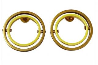 Uncommon Matters Swing Earrings Yellow / Gold