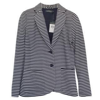 Ralph Lauren Blue Striped Jacket