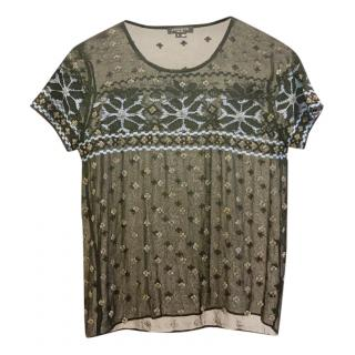 Gryphon Beaded Top