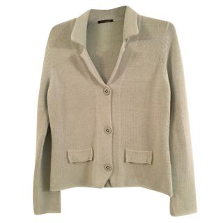 Luisa Cerano mint green cardigan