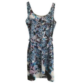 Erdem printed silk mini dress