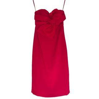 Club Monaco Red Klayton Cocktail Dress