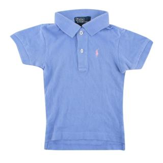 Polo by Ralph Lauren Blue Short Sleeve Polo Shirt